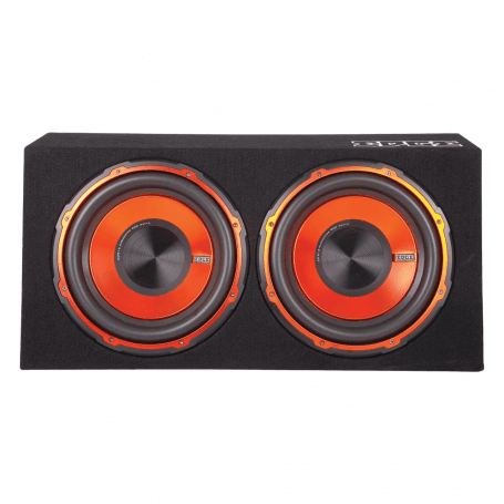 "Edge Audio 12"" inch 1800 Watts Twin Subwoofer"
