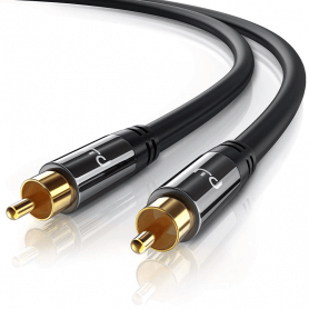 FosPower Premium Quality RCA Cable