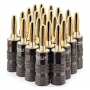 FosPower 24K Gold Plated Banana Speaker Plug | FORMYANMAR.COM