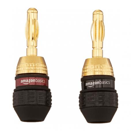 AmazonBasics Banana Plugs
